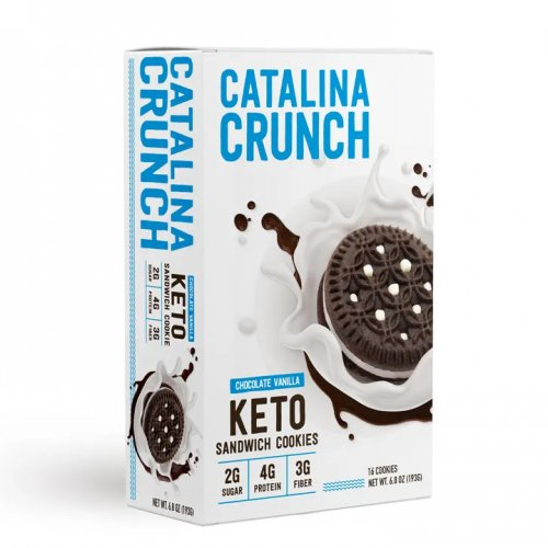 Catalina Crunch Keto Sandwich Cookies - Click Image to Close