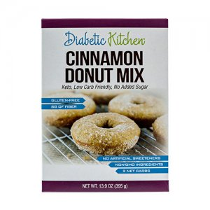 Diabetic Kitchen Low Carb Donut Mix
