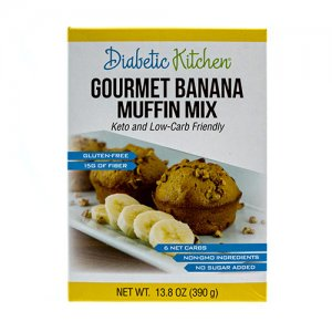 Diabetic Kitchen Low Carb Muffin Mix