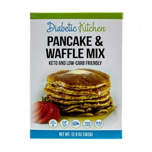 Diabetic Kitchen Low Carb Pancake and Waffle Mix