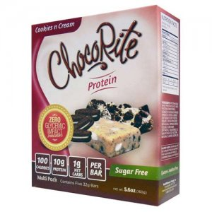 HealthSmart Foods ChocoRite Protein Bars, 5pack