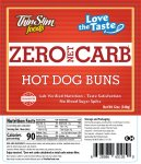 ThinSlim Foods Love-The-Taste Low Carb Hot Dog Buns