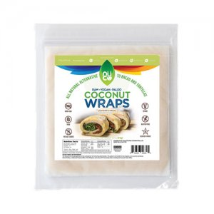 Nucoconut Coconut Wraps