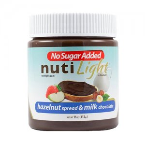 NutiLight Sugar Free Hazelnut Spread