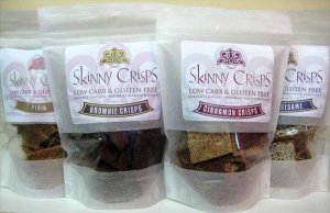 Skinny Crisps Low Carb Gluten Free Chips