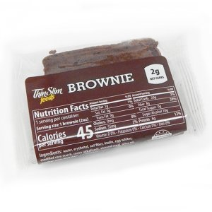 ThinSlim Foods Low Carb Low Fat Brownies