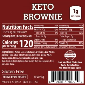 ThinSlim Foods Keto Brownies