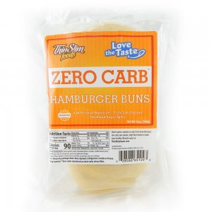 ThinSlim Foods Love-The-Taste Low Carb Hamburger Buns