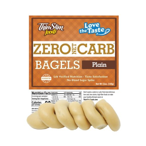 ThinSlim Foods Love-The-Taste Low Carb Bagels - Click Image to Close