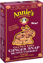 Annie's Bunny Cookies, Ginger Snap