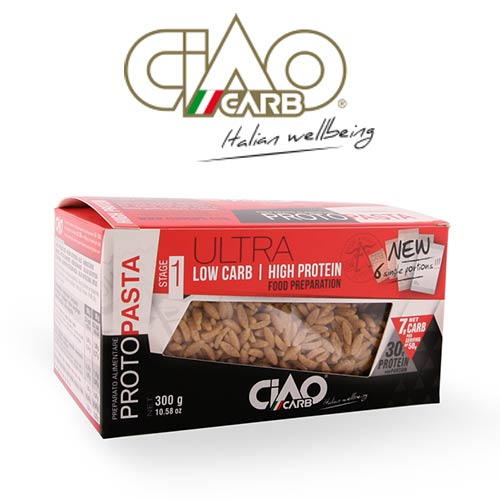 Ciao Carb High Protein Low Carb Pasta Rice - Click Image to Close
