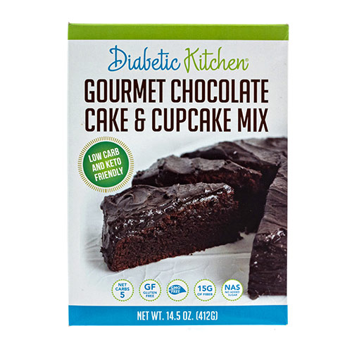 Diabetic Kitchen Low Carb Cake and Cupcake Mix - Click Image to Close
