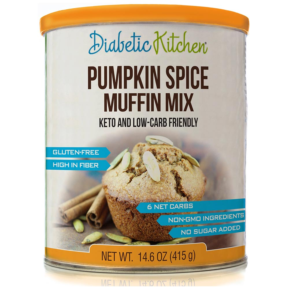 Diabetic Kitchen Low Carb Muffin Mix - Click Image to Close