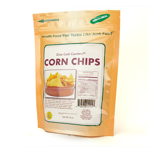 Dixie Diner Low Carb Corn Chips - Click Image to Close
