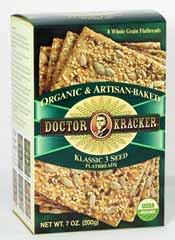 Doctor Kracker Flatbread Crackers