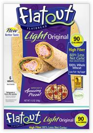Flatout FlatBread Light Wraps