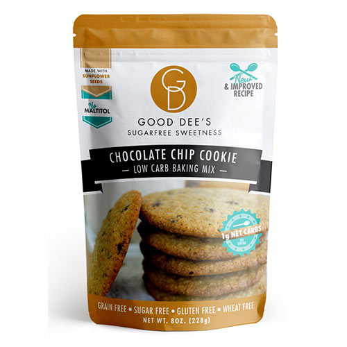 Good Dee's Low Carb Cookie Mix - Click Image to Close