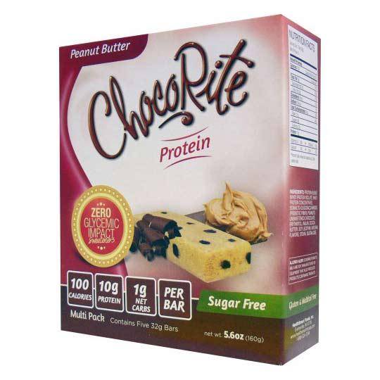 HealthSmart Foods ChocoRite Protein Bars, 5pack ...
