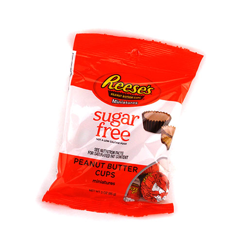 Hershey's Sugar Free Reese's Peanut Butter Cups Miniatures - Click Image to Close
