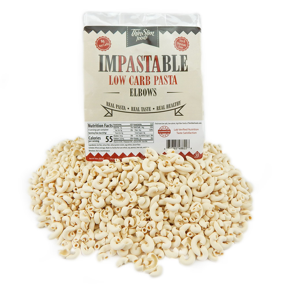 ThinSlim Foods Impastable Low Carb Pasta - Click Image to Close