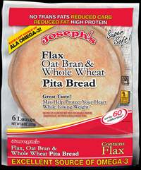 Joseph's Middle East Bakery Low Carb Pita Bread