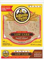 La Tortilla Factory Low Carb Wraps