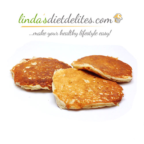 Linda's Diet Delites High Protein Low Carb Pancakes - Click Image to Close