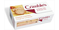 Mrs Crimble's Gluten Free Cheese Crackers