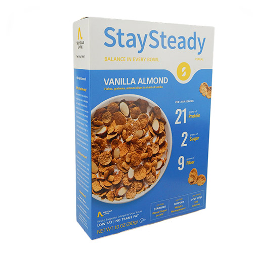 Nutritious Living StaySteady Cereal - Click Image to Close