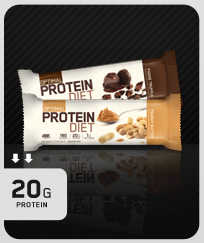 Optimum Nutrition Optimal Protein Diet Low Carb Bars