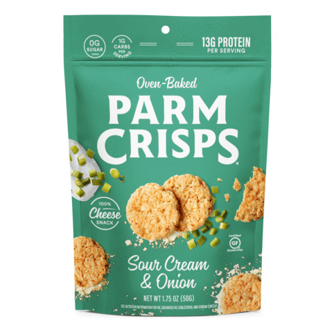 ParmCrisps Oven-Baked Cheese Snack - Click Image to Close