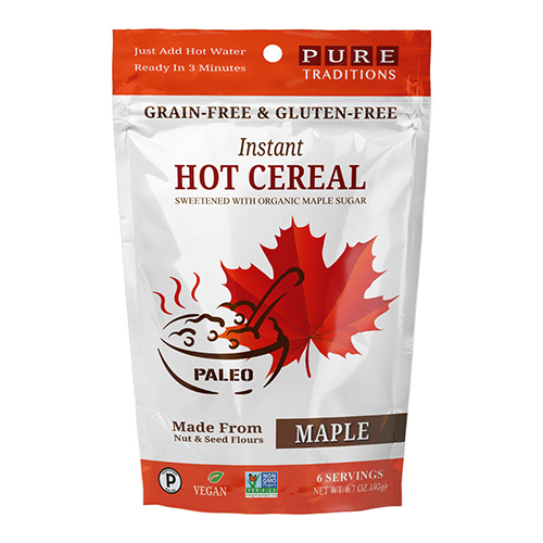 Pure Traditions Instant Hot Cereal - Click Image to Close