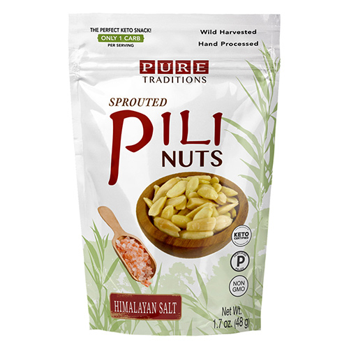 Pure Traditions Sprouted Pili Nuts - Click Image to Close