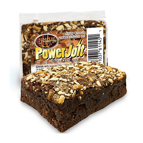 Simply Scrumptous Protein Jolt Brownies - Click Image to Close