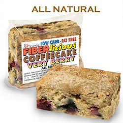 Simply Scrumptous Low Carb Coffee Cake Very Berry
