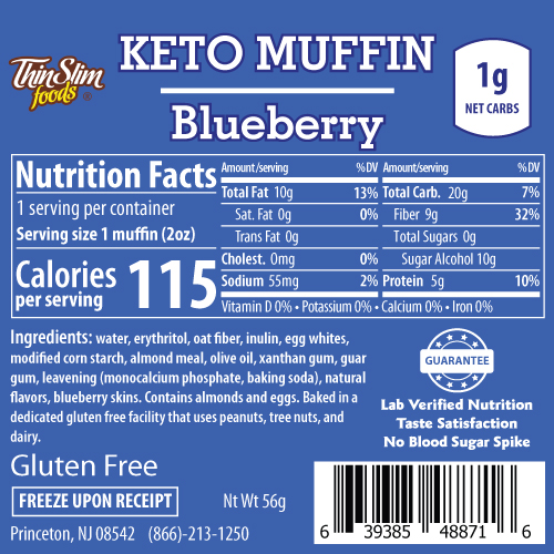 ThinSlim Foods Keto Muffins - Click Image to Close