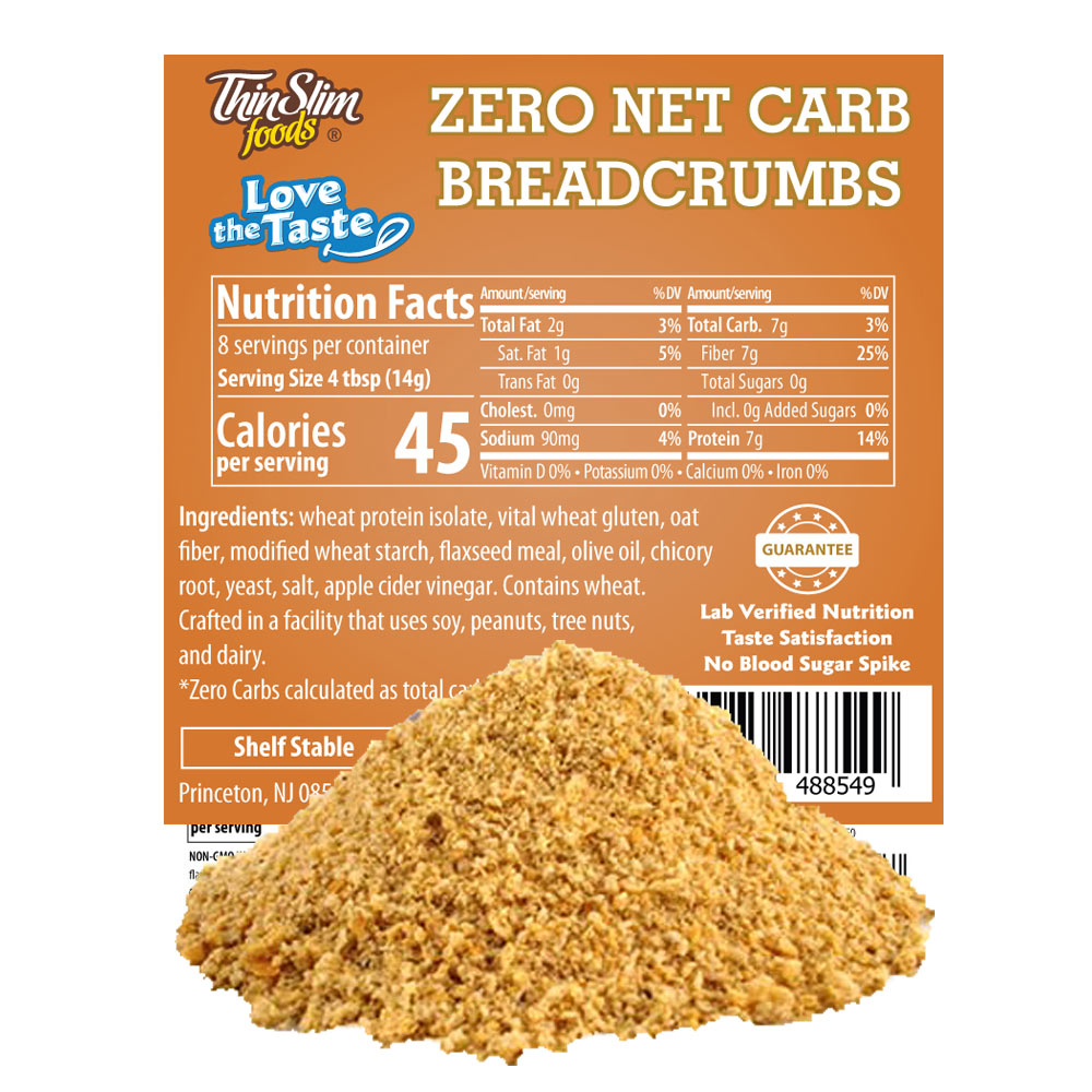 ThinSlim Foods Love-the-Taste Low Carb Breadcrumbs - Click Image to Close