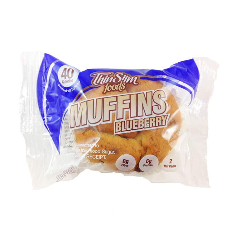 ThinSlim Foods Low Carb Low Fat Muffins - Click Image to Close