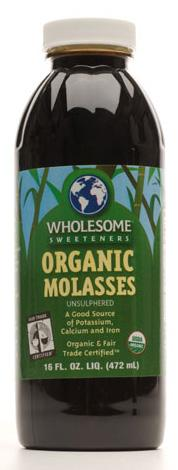 Wholesome Sweeteners Organic Blackstrap Molasses