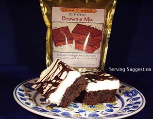 Flax Z Snax Low Carb Elite Brownie Mix